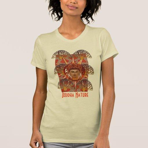 Camiseta de Spritiual de la naturaleza de Buda