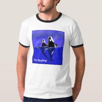Camiseta de SpyHop de las ballenas de la orca Playeras