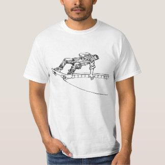 Camiseta de Sr. Hurricane Skateboard Camisas