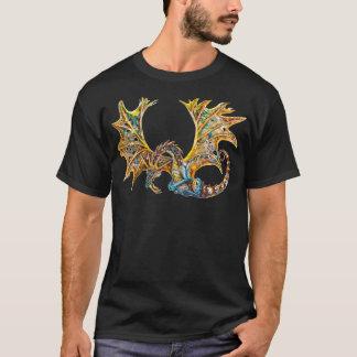 Camiseta de Steampunk del dragón