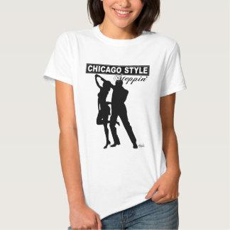 Camiseta de Steppin del estilo de Chicago Camisas