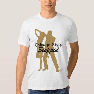 Camiseta de Steppin del estilo de Chicago Poleras