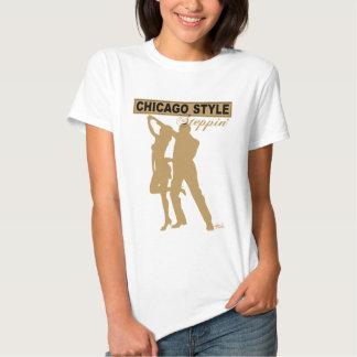 Camiseta de Steppin del estilo de Chicago Remera