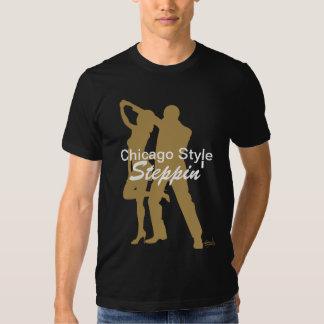 Camiseta de Steppin del estilo de Chicago Remeras