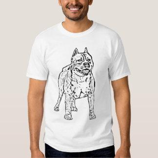 Camiseta de Stoffordshire Terrier del americano Playeras