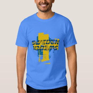Camiseta de Suecia Remera