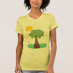 Camiseta de Sun del verano de la brisa de la isla