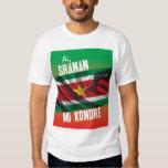 Camiseta de Suriname con el texto Playeras