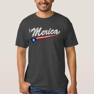 Camiseta de Swoosh 'Merica del estilo de la bander Playeras