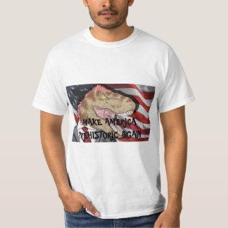 ¡CAMISETA DE T-REX!  ¡Haga América prehistórica Camisas