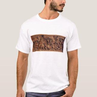 Camiseta de talla de madera tailandesa
