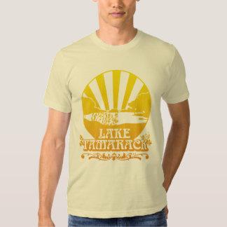 Camiseta de Tamarack del lago: Retro Polera
