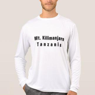 Camiseta de Tanzania (kilomanjaro de la montaña) y