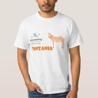 Camiseta de Tanzania - ofrecerse voluntariamente Playera