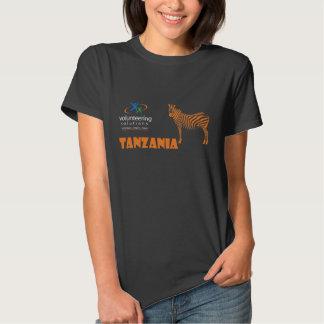 Camiseta de Tanzania - ofrecerse voluntariamente Playeras