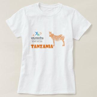 Camiseta de Tanzania - ofrecerse voluntariamente Remeras