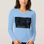 Camiseta de TD del carácter de KFP (versión Playera