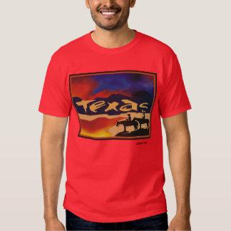camiseta de Tejas Polera