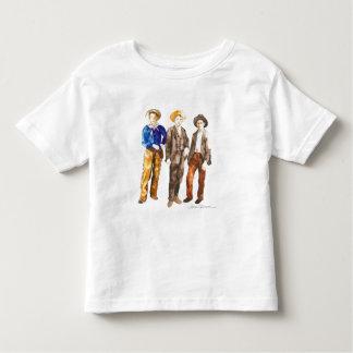 Camiseta de Todder del vaquero Playeras
