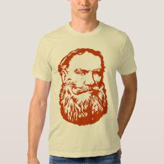 Camiseta de Tolstoy Playera