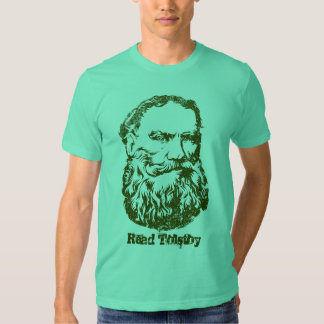 Camiseta de Tolstoy Poleras