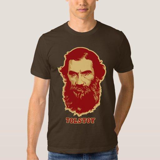Camiseta de Tolstoy Remera