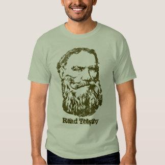 Camiseta de Tolstoy Remeras