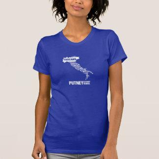 Camiseta de Toscana de la Pre-Universidad en color