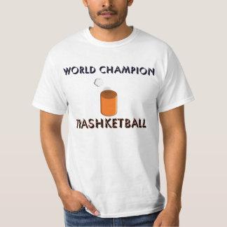 Camiseta de Trashketball del campeón del mundo