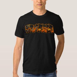 Camiseta de Traxx del área de la bahía (negro) Playeras