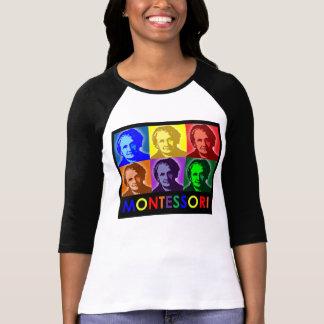 Camiseta de tres cuartos del Estallido-Arte de Mar