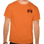 Camiseta de tres pimientos picantes del amigo