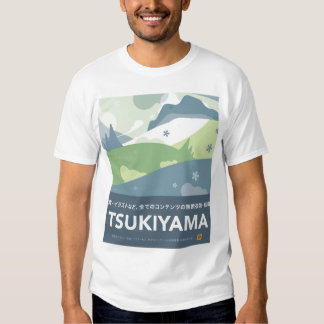 Camiseta de Tsukiyama Poleras