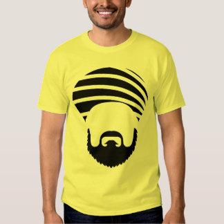 Camiseta de Turbanizer - amarillo de la mostaza Remeras