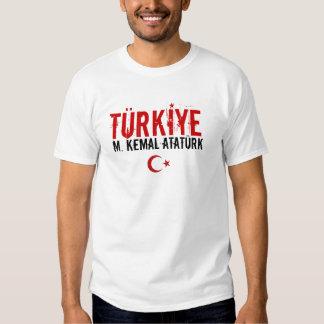 Camiseta de Turkiye Bayan Playera