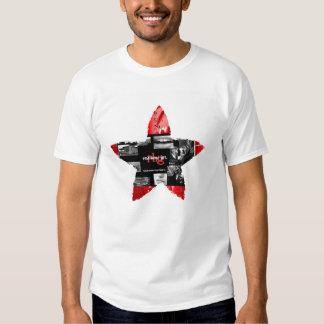 Camiseta de Twofer de la superestrella del niño Poleras