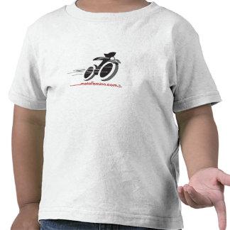 Camiseta de Twofer del niño de MotoFemina