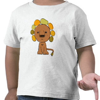 Camiseta de Twofer del niño del león