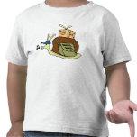 Camiseta de Twofer del niño del snail mail