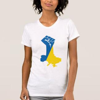 Camiseta de Ucrania de la solidaridad