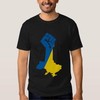 Camiseta de Ucrania de la solidaridad Playeras
