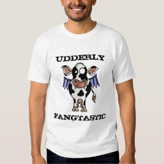 Camiseta de Udderly Fangtastic Polera