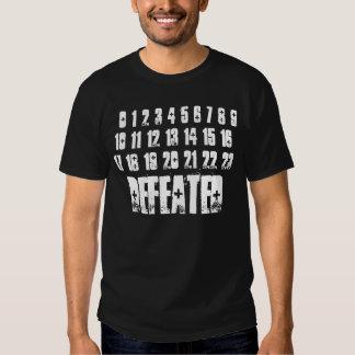 Camiseta de un poder más bajo remera