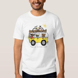 """Camiseta """"de un Roadtrip salvaje"""" de Reneé Womack Camisas"""