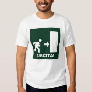Camiseta de Uscita Playeras