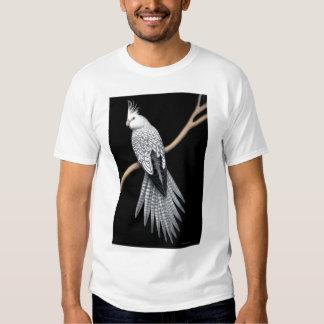 Camiseta de varios colores del loro del Cockatiel Camisas