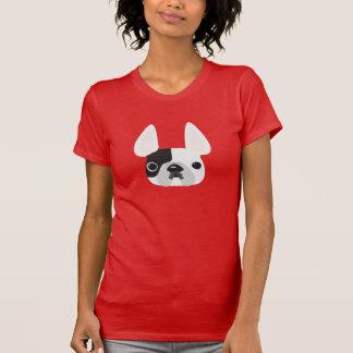 Camiseta de varios colores negra y blanca de Frenc