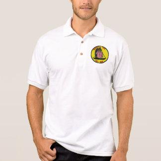 Camiseta de Vietnam del tiempo del mercado Polos