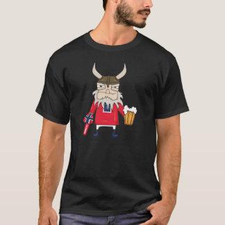 Camiseta de Viking del noruego