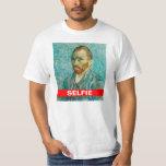 Camiseta de Vincent van Gogh Selfie Camisas